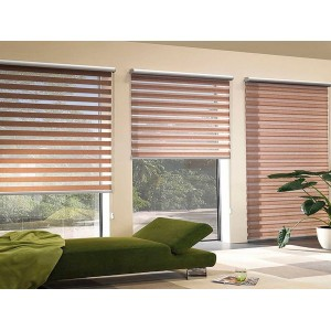 Zebra Roller Blinds - Plain Colours