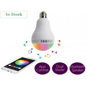 LED Bluetooth Light Bulbs with Speaker