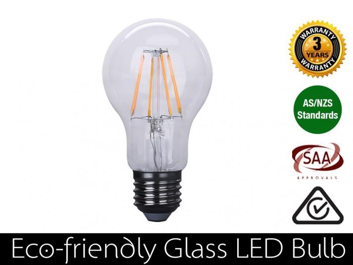 4W LED Filament Bulb E27 Warm White 400LM