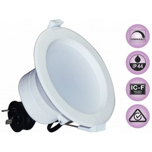 10W Dimmable Recessed LED Downlight Kit Warm White 800LM (3 Year Warranty)