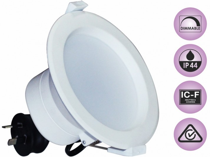 10W Dimmable Downlight Kit Warm White 800LM
